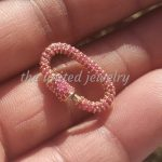 14k Yellow Solid Gold 20mm Mini Baby Pave Setting Handmade Carabiner Wholesale Price Jewelry Supplier