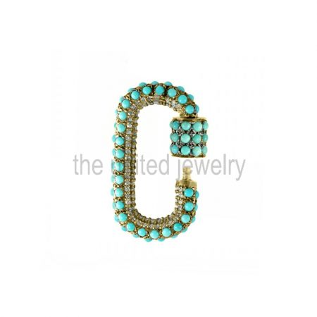 carabiner lock jewelry manufacturer india
