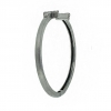 0.43 cts Pave Diamonds 925 Sterling Silver Cuff Bangle Fine Jewelry