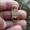 14k yellow gold padlock jewelry manufacturer