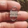 Natural Pave Diamond Handmade 925 Sterling Silver Padlock Jewelry Manufacturer