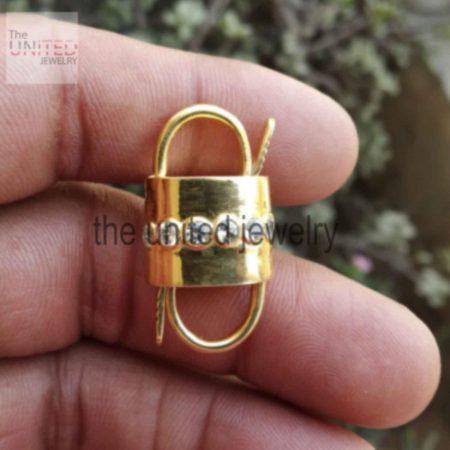 Designer Handmade Padlock 925 Sterling Silver Topaz Padlock Jewelry Manufacturer