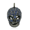 925 Sterling Silver Skull Charms Pendant Jewelry