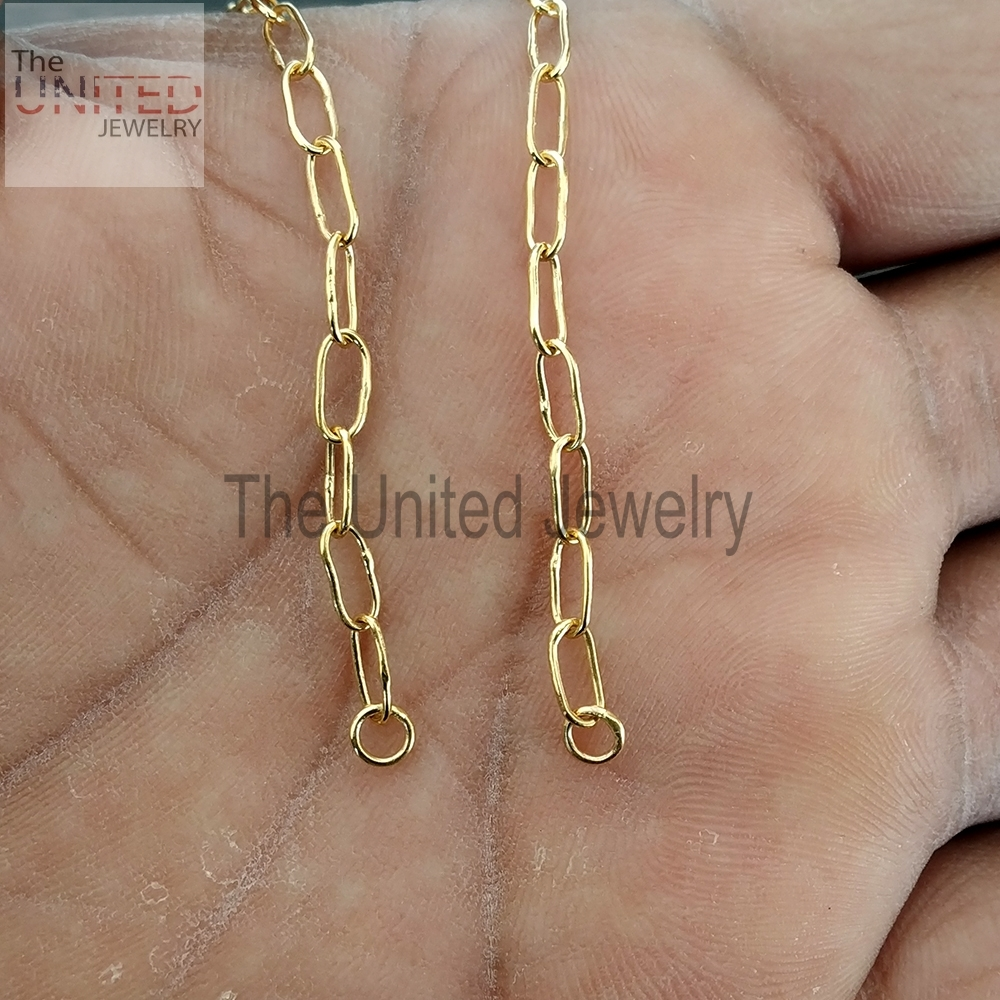 18 inch' Women's Handmade 925 Sterling Silver Link Chain Necklace Fine Jewelry Wholesale