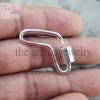 handmade boomerang carabiner lock jewelry manufacturer