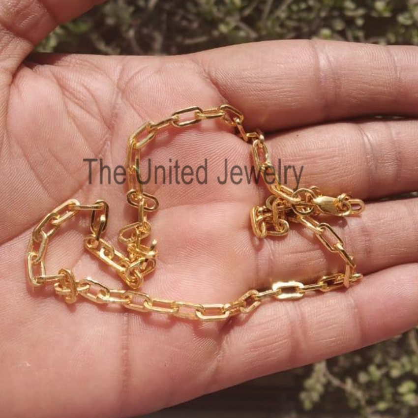 paper clip chain the united jewelry