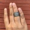 Pave Diamond Cigar Bands - Pave Diamond Jewelry - Pave Diamond Ring - Diamond Ring