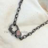pave diamond clasp lock