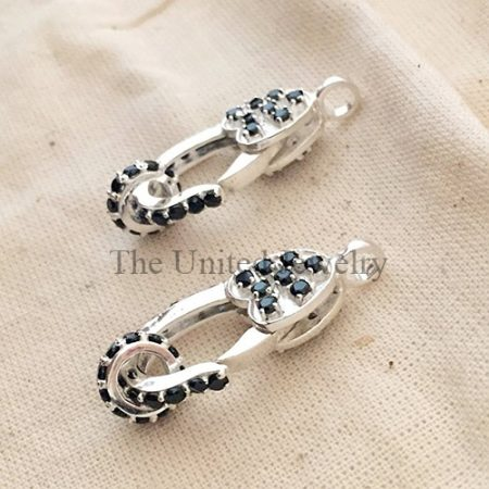 Spinel Sterling Silver Lobster Clasp Lock Jewelry