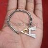 initial carabiner lock jewelry
