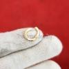 10MM Enhancer Charm Lock,Enhancer Charm Lock, Gold Charm Holder, Charm Holder Necklace, Sterling Silver Round Pendant Lock