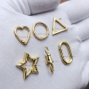 14k gold charm holder lock